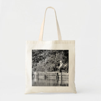 Father Christmas day off Canvas Bags