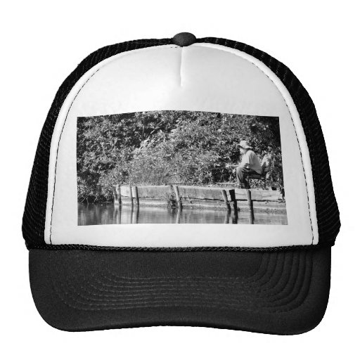 Father Christmas day off Mesh Hats