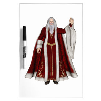 Father Christmas Dry Erase Whiteboards