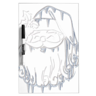 Father Christmas Dry-Erase Whiteboards