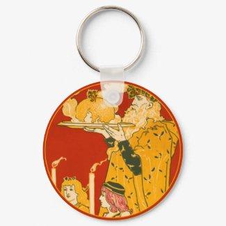 Father Christmas - Keychain keychain