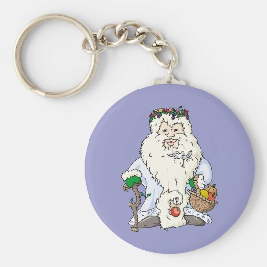 Father Christmas Keychain