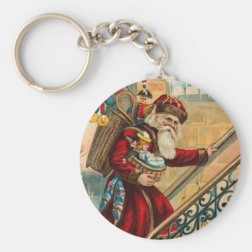 Father Christmas Keychains