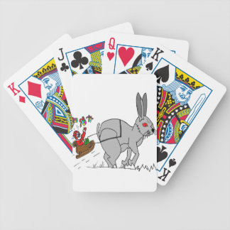 FATHER CHRISTMAS LAPIN1.png Bicycle Poker Deck