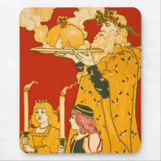 Father Christmas - Mousepad mousepad