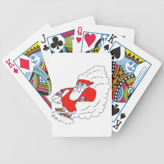 FATHER CHRISTMAS NUAGE1.png Bicycle Playing Cards