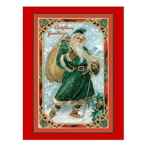Father Christmas Post Card