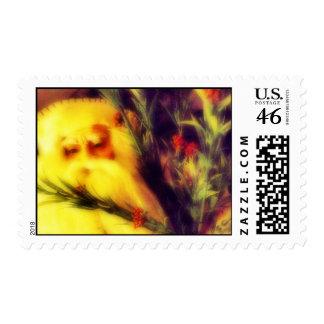 Father Christmas Postage Stamps