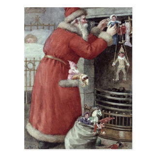 Father Christmas Post Cards