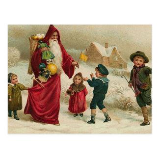 Father Christmas Postcard