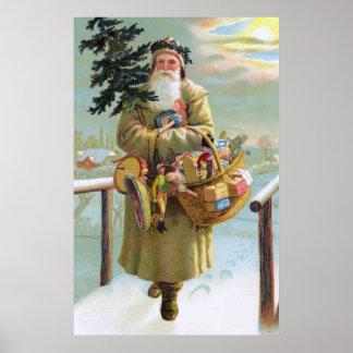 Father Christmas Print
