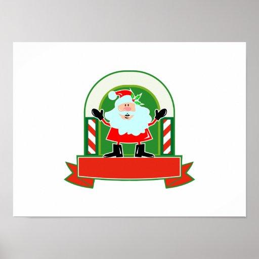 Father Christmas Santa Claus Poster