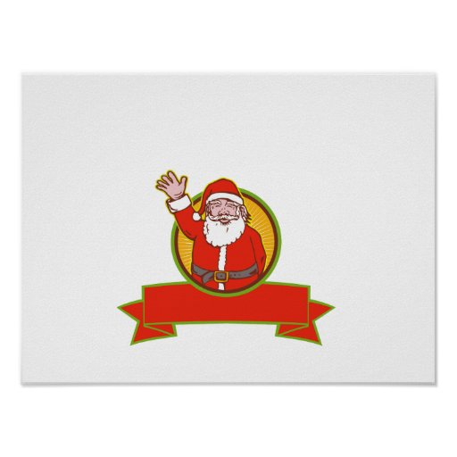 Father Christmas Santa Claus Poster