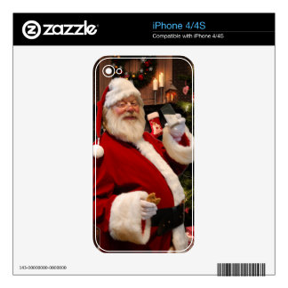 Father Christmas skin for Iphone 4s