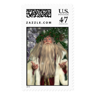Father Christmas Stamps