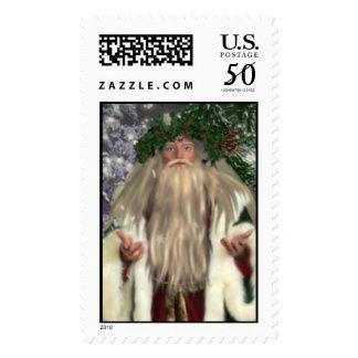 Father Christmas Stamps