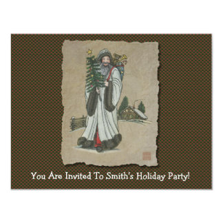Father Christmas & Toys Card