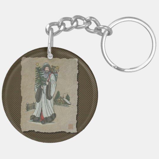 Father Christmas & Toys Keychain