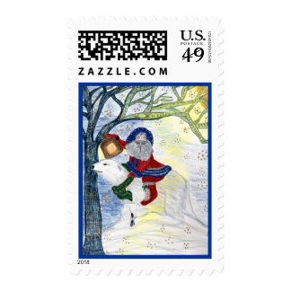 Father Christmas Winter Solstice Postage