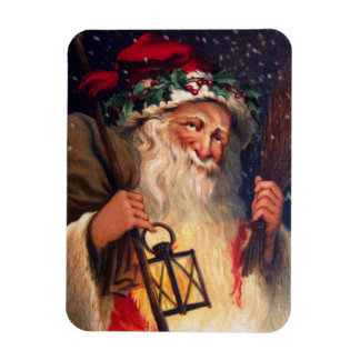 Father Christmas with Lantern Magnet