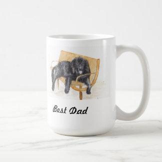Father Dad Newfoundland Dog Mug Any occasion