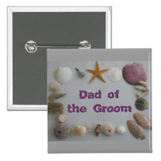 Father Dad of the Groom Pins
