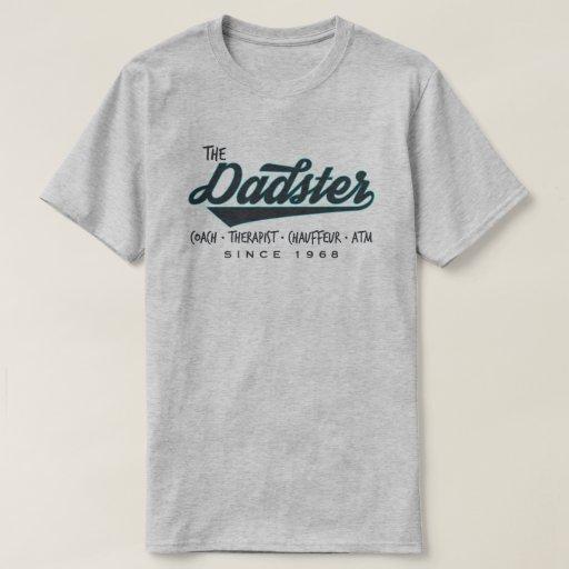 Father 39 dadster 39 retro vintage custom t shirt zazzle for Zazzle custom t shirts