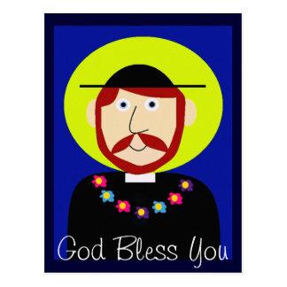 Father Damien of Molokai Postcard