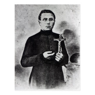 Father Damien Postcard