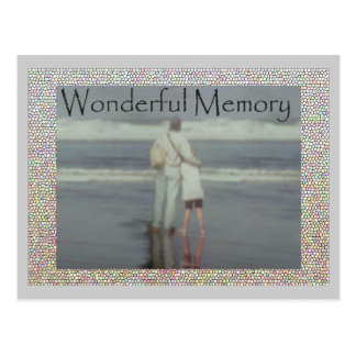 Father Daughter memory Postcard