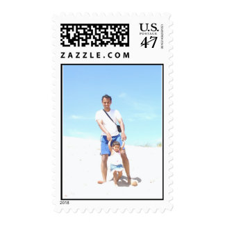 Father & Daughter Postage