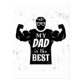 Father day postcard