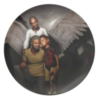Father Day's Gifts Melamine Plate
