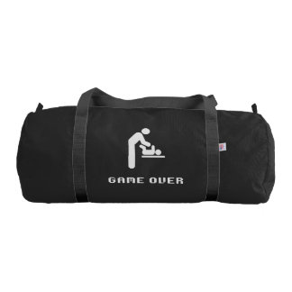 Father Diaper Change Game Over Duffle Bag