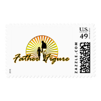 Father figure - postage stamp