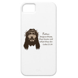 FATHER FORGIVE THEM iPhone 5 CASE