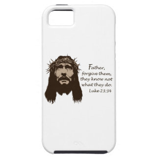 FATHER FORGIVE THEM iPhone 5 COVER