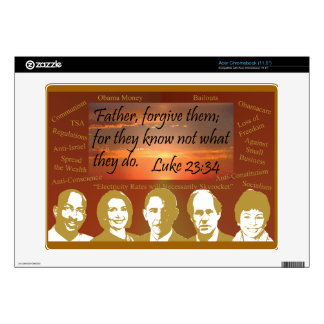 Father Forgive Them Acer Chromebook Decal