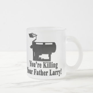 Father Frosted Glass Coffee Mug