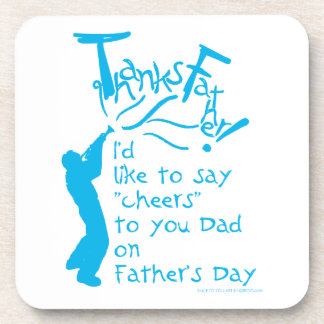 father gift No.1 Beverage Coasters