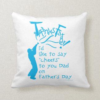 father gift No 1 Throw Pillow