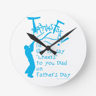 father gift No.1 Round Clock