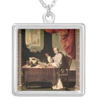 Father Gonzalo de Illescos Silver Plated Necklace