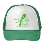 Father Hero In My Life - Lymphoma Mesh Hats