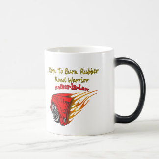 Father-in-law Burn Rubber Racing Gifts Mug