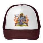Father-in-law Fathers Day Football Gifts Mesh Hats