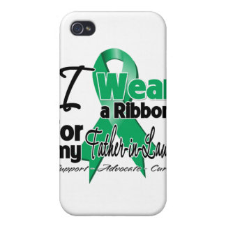Father-in-Law - Liver Cancer Ribbon.png iPhone 4/4S Covers