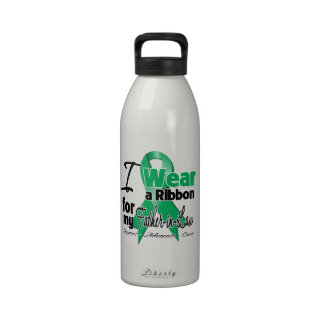 Father-in-Law - Liver Cancer Ribbon.png Drinking Bottles