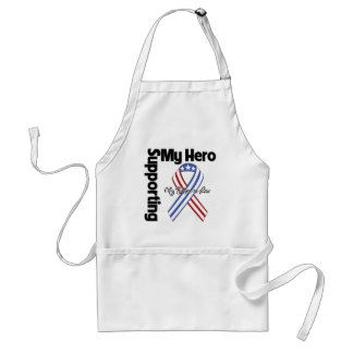 Father-in-Law - Military Supporting My Hero Adult Apron