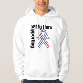 Father-in-Law - Military Supporting My Hero Hoodie